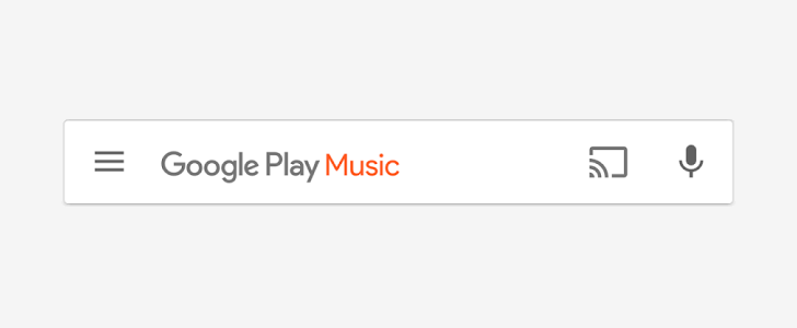 Google Play Music's Search Bar Might Soon Look Very Different