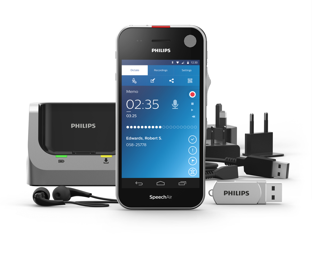 Phone Philips Android Phone philips launches speechair a new android powered digital voice police