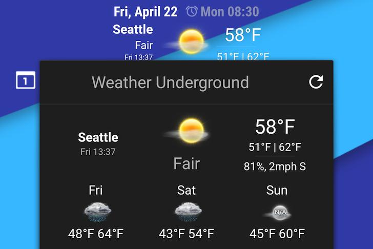 CyanogenMod Releases Weather Underground Weather Provider Plugin