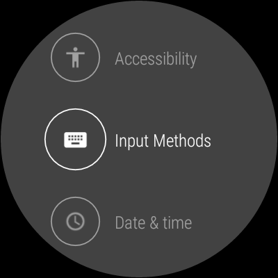 how to enable the handwriting keyboard on android wear 2 0 preview 1. Black Bedroom Furniture Sets. Home Design Ideas
