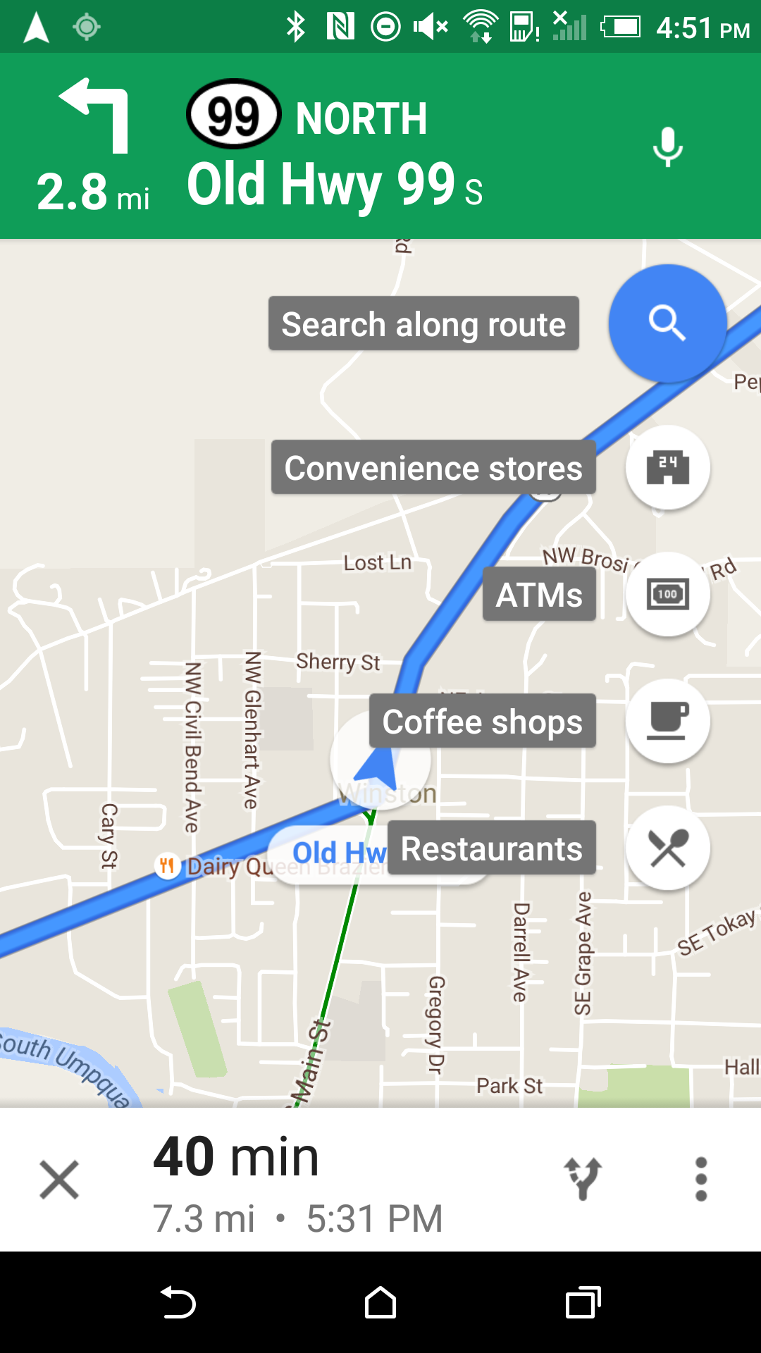 Google Maps v9.26.1 Adds Search Along Route For Walking And ... on mapquest walking maps, disney walking maps, google safety, google fitness,