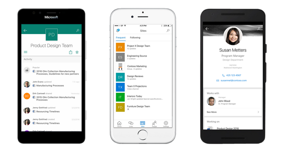 Microsoft Announces SharePoint Mobile Apps, Android Version