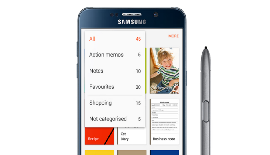 Samsung Uploads S Note App Into The Play Store To Provide