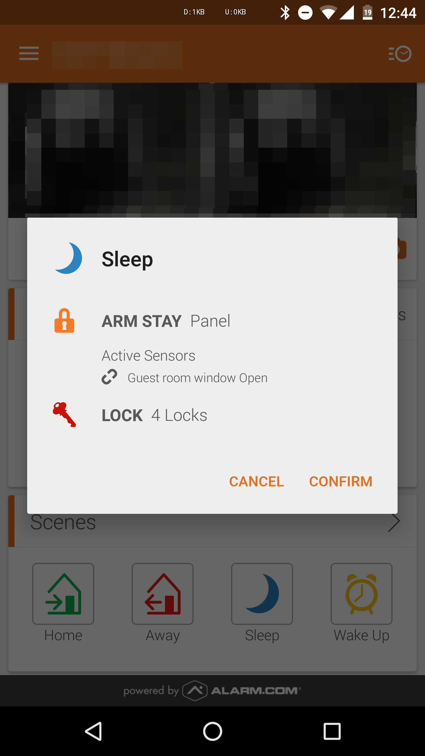 Alarm com Brings One-Touch Automation 'Scenes' To Android In
