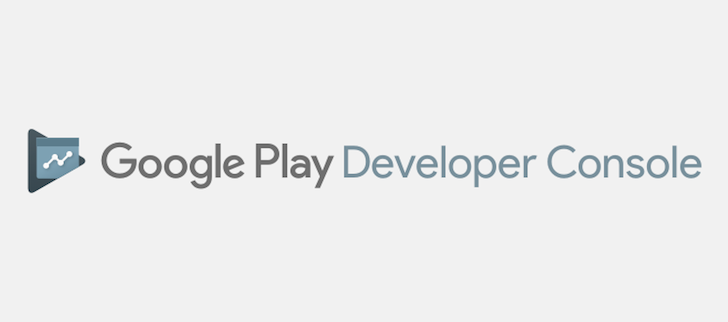 Google play developer console gets a new logo similar to the recent play rebranding - Google developper console ...