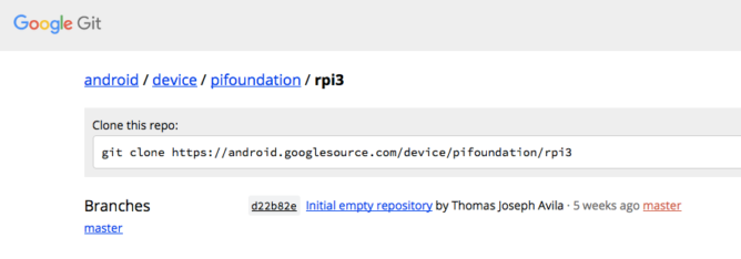 device_pifoundation_rpi3_-_Git_at_Google