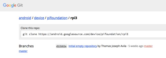 device_pifoundation_rpi3_-_Git_at_Google