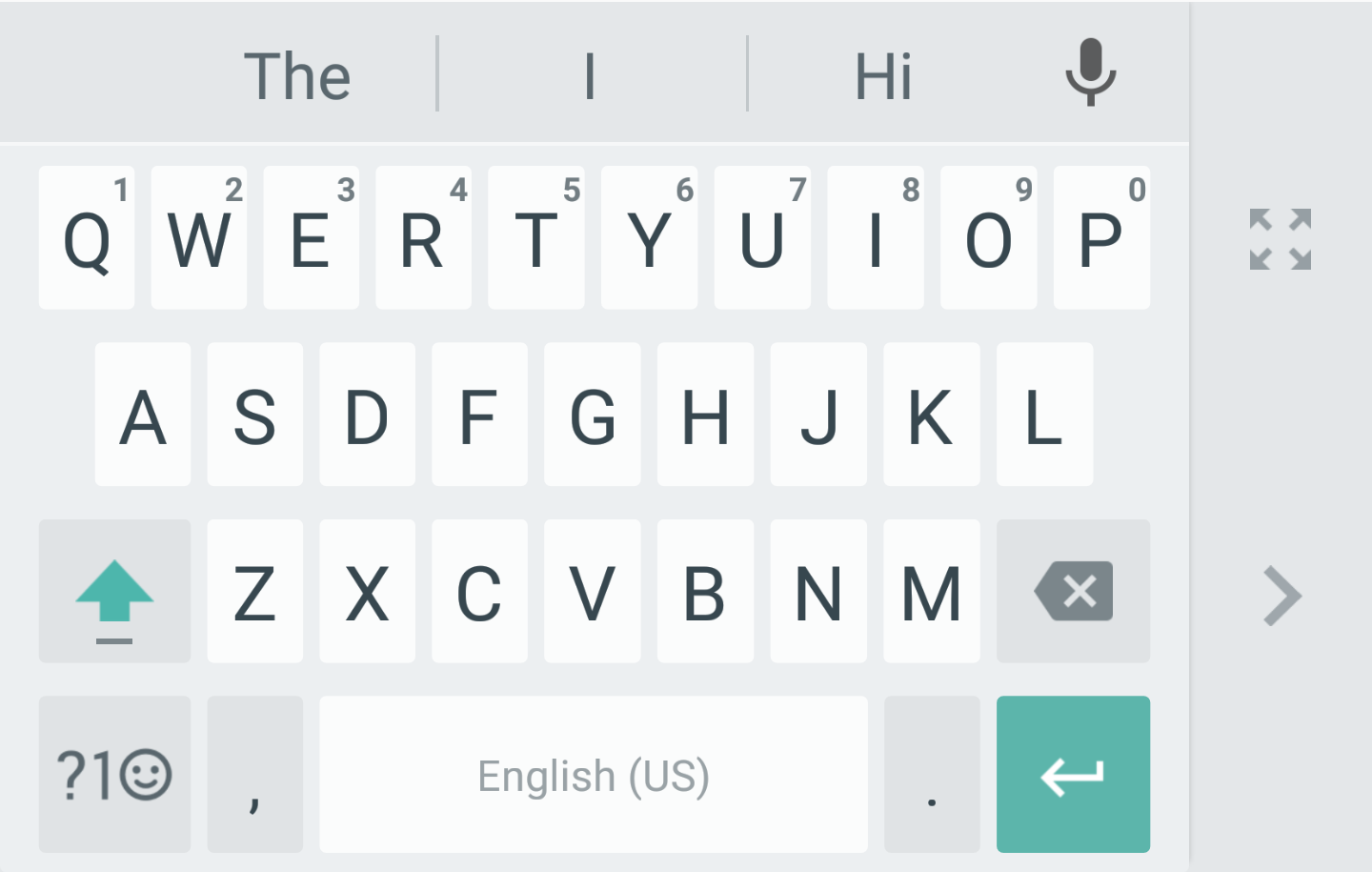 Google keyboard gets a huge update to v50 with one handed mode android police biocorpaavc