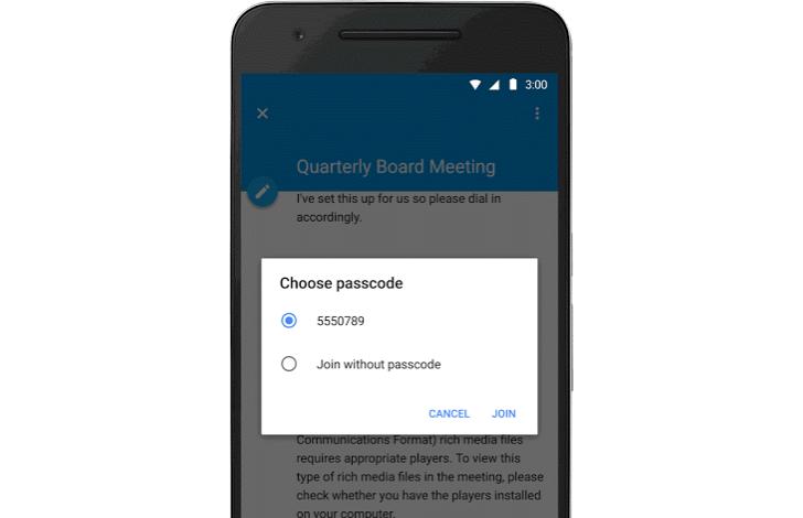 google-calendar-passcode
