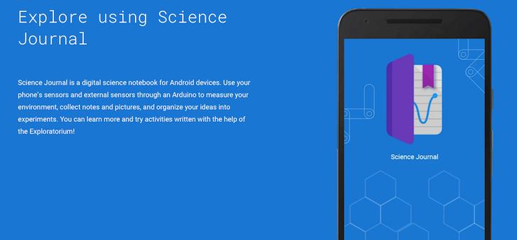 Google's New Science Journal App Is A Science Nerd's Dream ...
