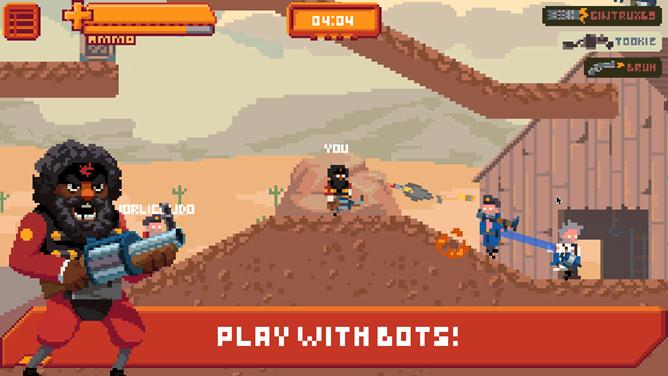 Gangfort Is The 2d Platformer Version Of Team Fortress 2 You Never