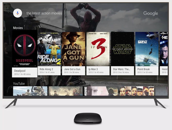 Google's big Android TV announcement