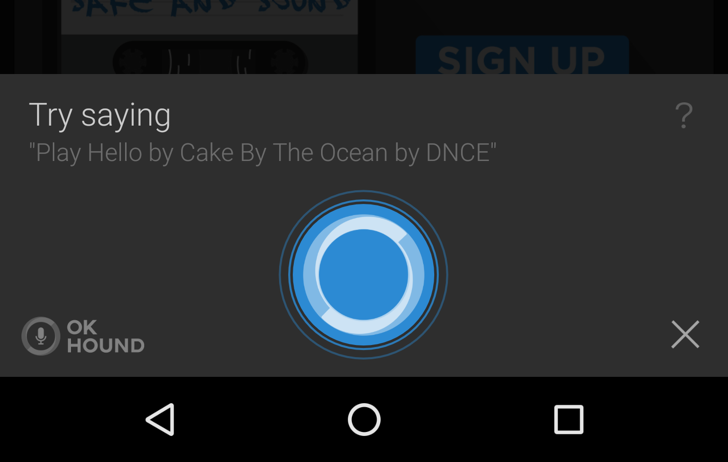 SoundHound Update Brings 'OK Hound' Voice Commands For Hands-Free