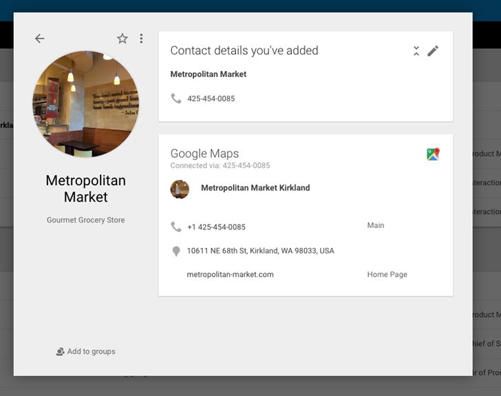 Google Contacts Can Now Use Phone Numbers To Pull And Auto ...