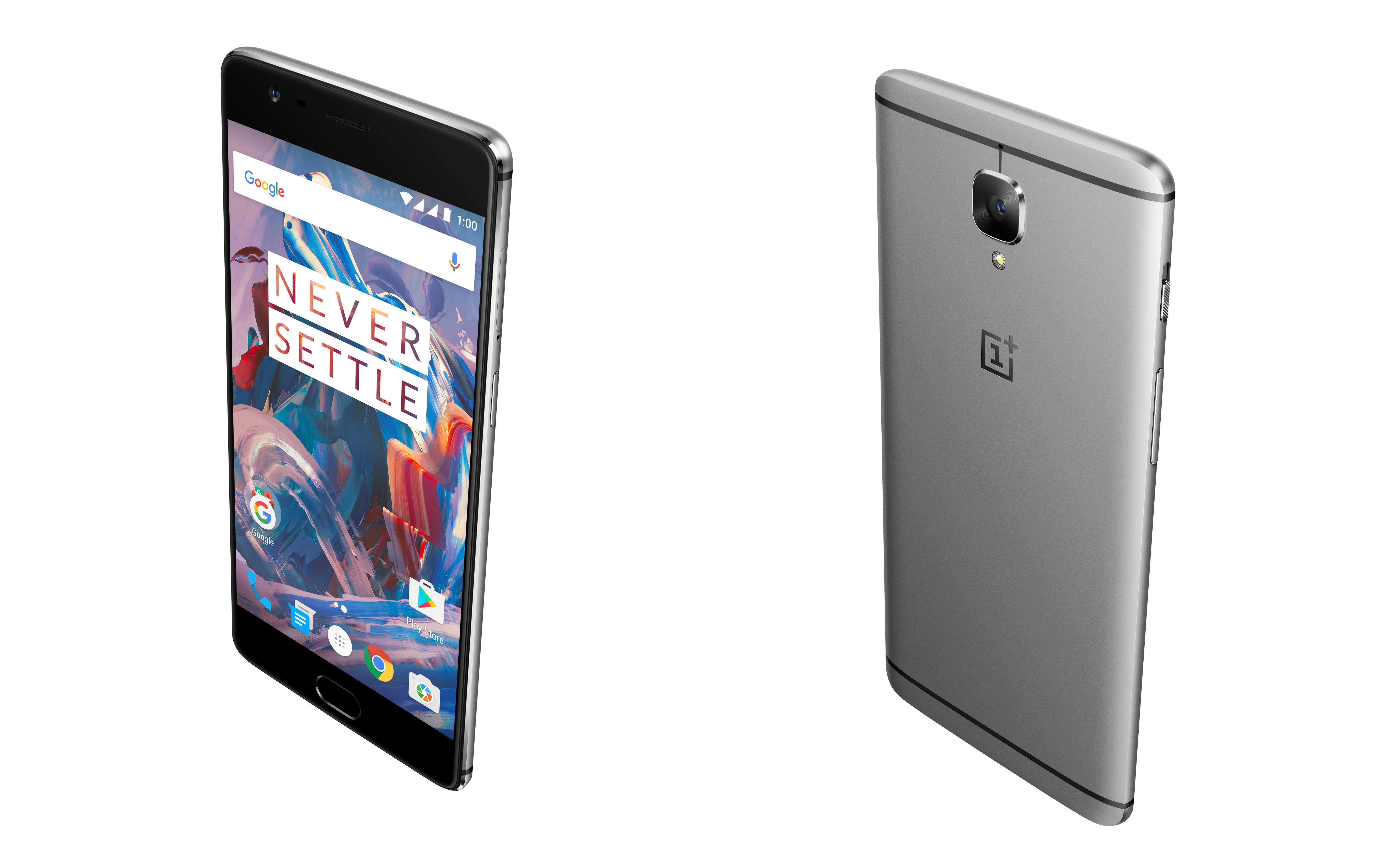 The OnePlus 3 is official with a Snapdragon 820, 6GB of ... Oneplus