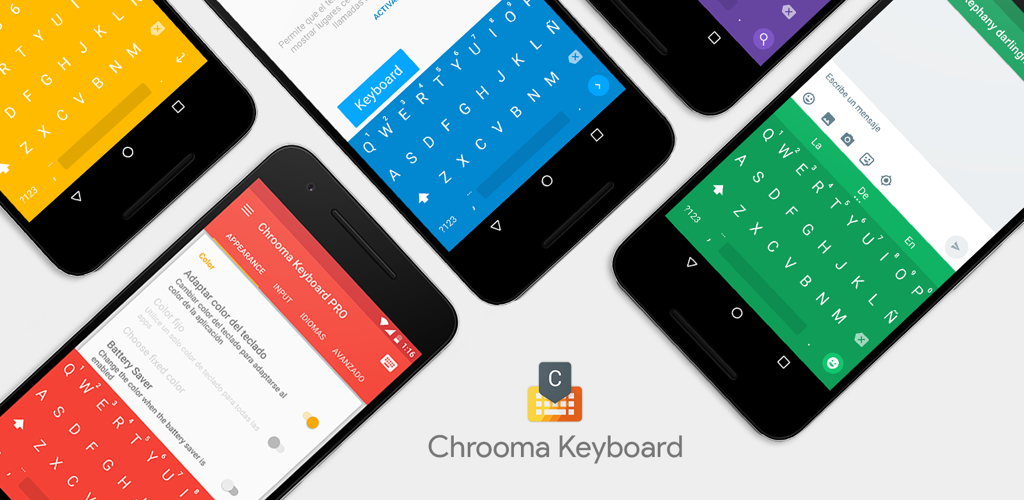 Impressive] Chrooma Keyboard 3 0 adds gestures, themes and
