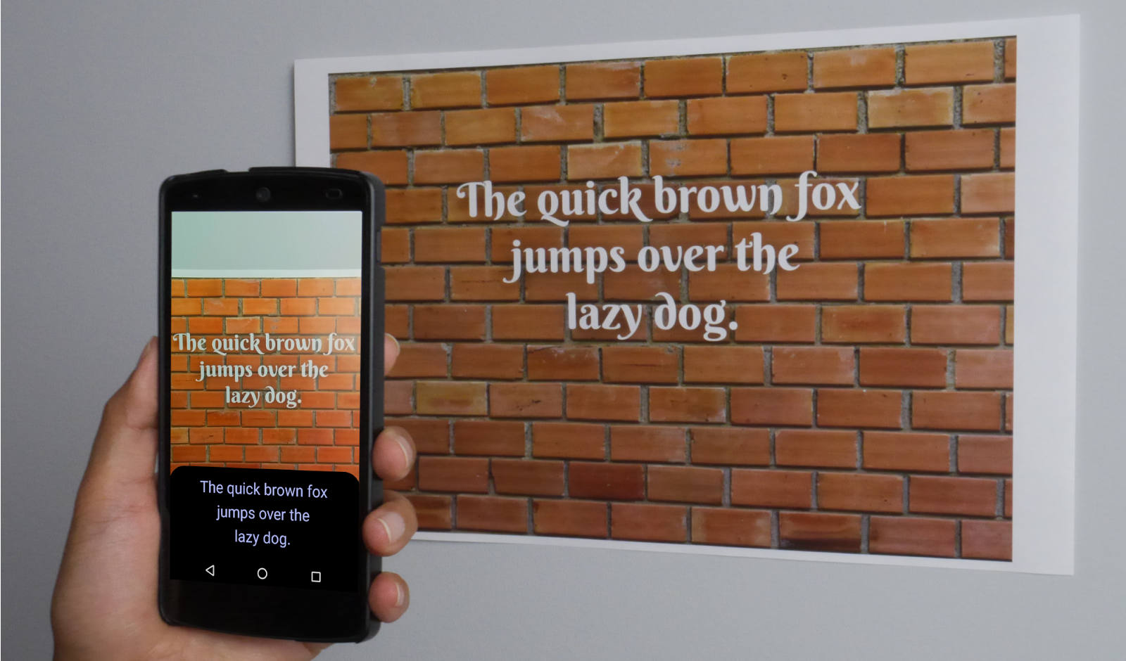Google adds Text API to Mobile Vision and restores barcode