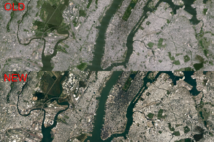 Google releases sharper satellite images in google earth and maps the landsat 8 satellite was launched by nasa in 2013 to snap photos of earth in higher detail than was possible before this is an open project gumiabroncs Image collections