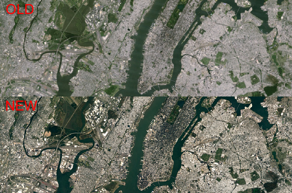 Google releases sharper satellite images in Google Earth and ...