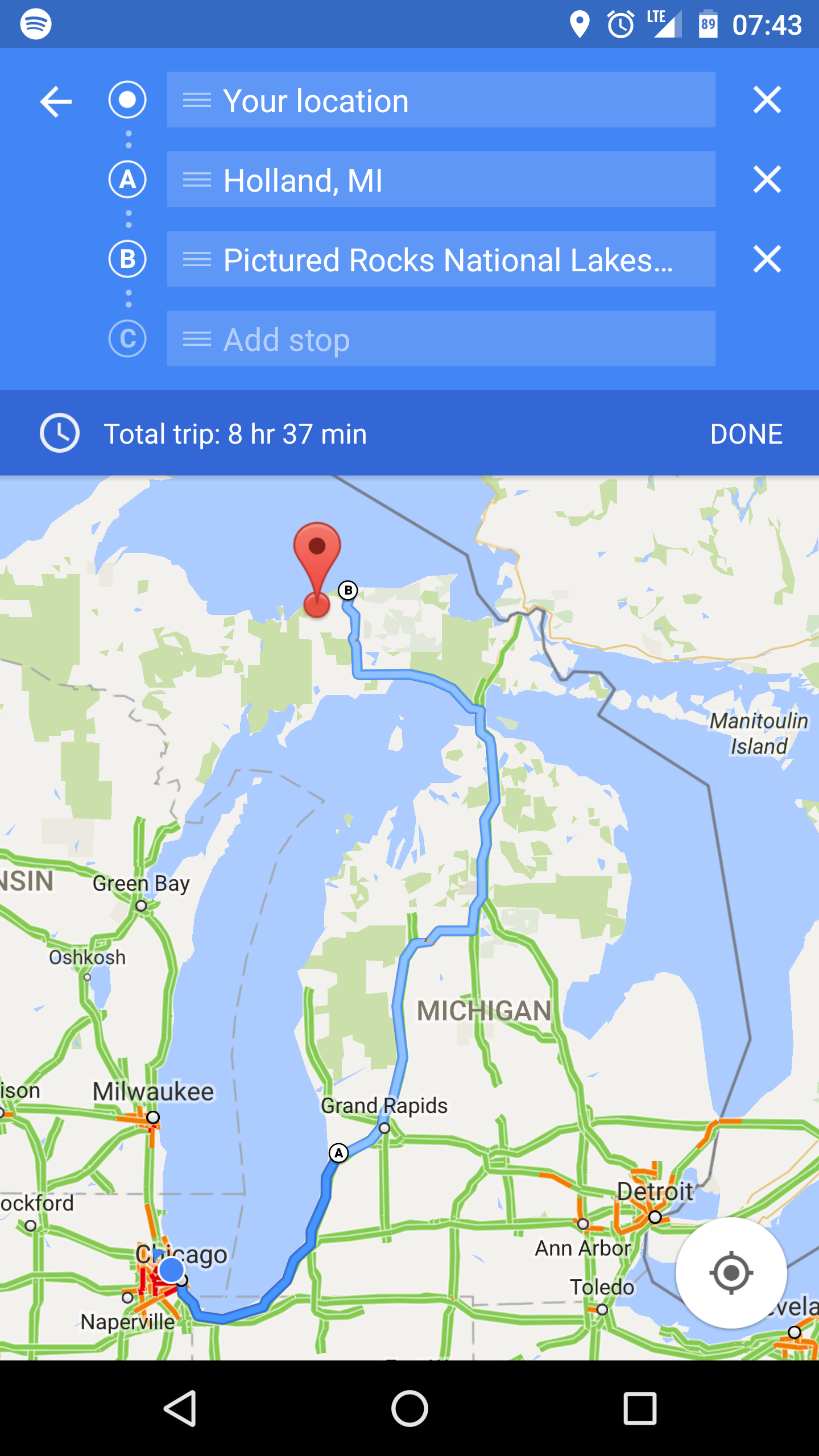 Google Maps for Android is finally rolling out multi ... on big bear lake map google, waco map google, new haven map google, san luis obispo map google, bakersfield map google, downtown detroit map google, baton rouge map google, coeur d'alene map google, knoxville map google, honolulu map google, port huron map google, killeen map google, shreveport map google, tulsa map google, state college pa map google, jacksonville map google, pasadena map google, lexington map google, beaverton map google, oakland map google,