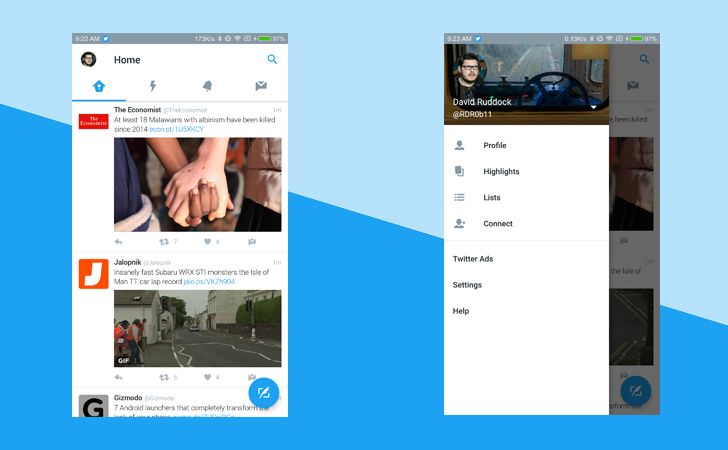Twitter's New Android UI Launches Today For Everybody