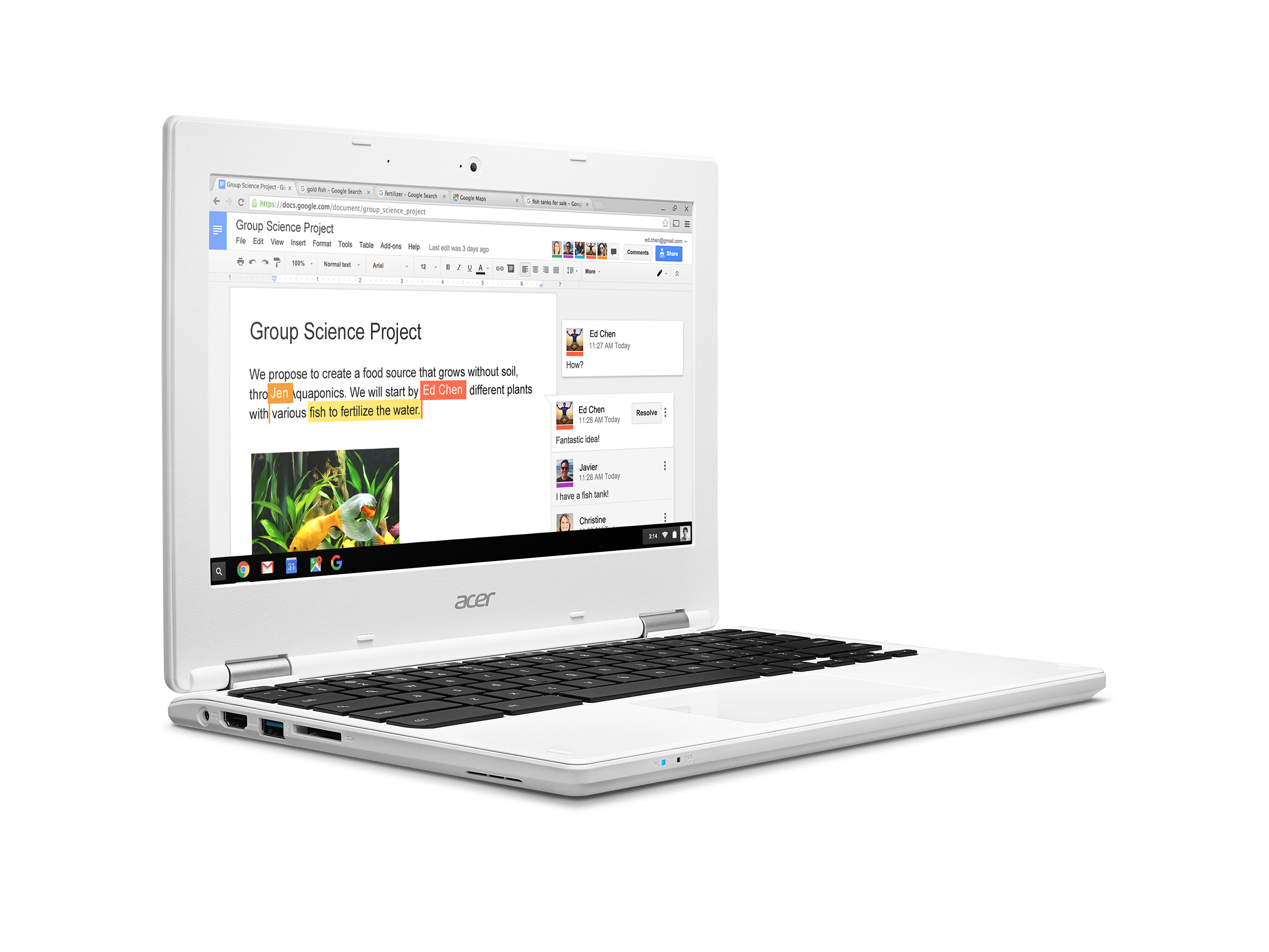 Google Store Starts Selling The Acer Chromebook 14 And Chromebook 11 2016
