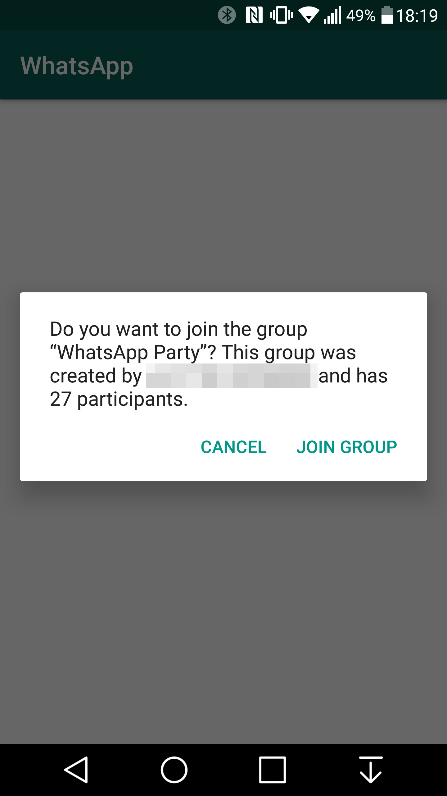how to create whatsapp group invite links