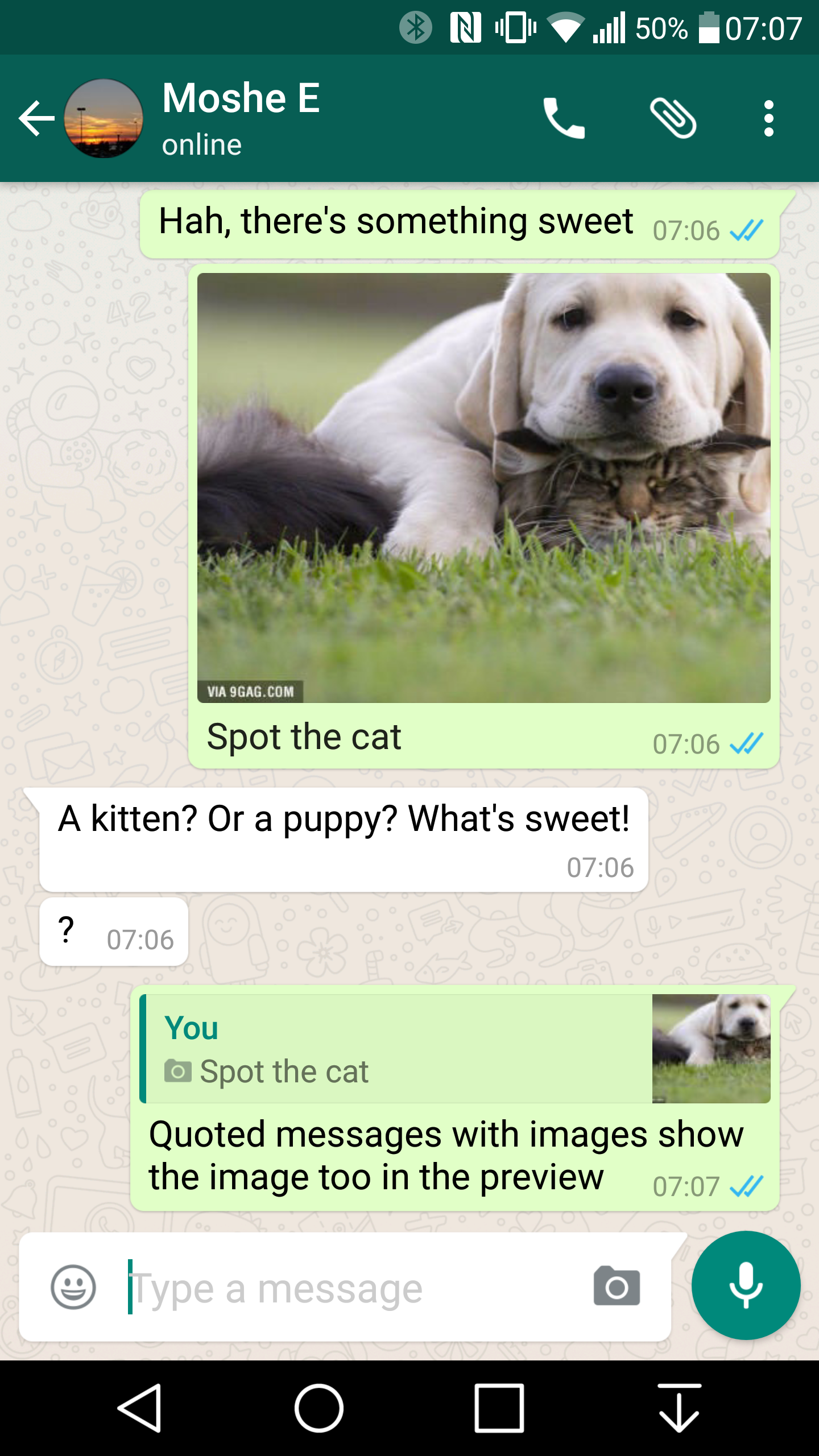 Whatsapp 216118 Beta Adds Message Quotes And Replies