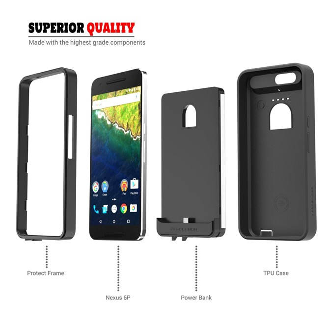 newest b7288 76d3b Update: Now available] ZeroLemon's 8500mAh battery case for the ...
