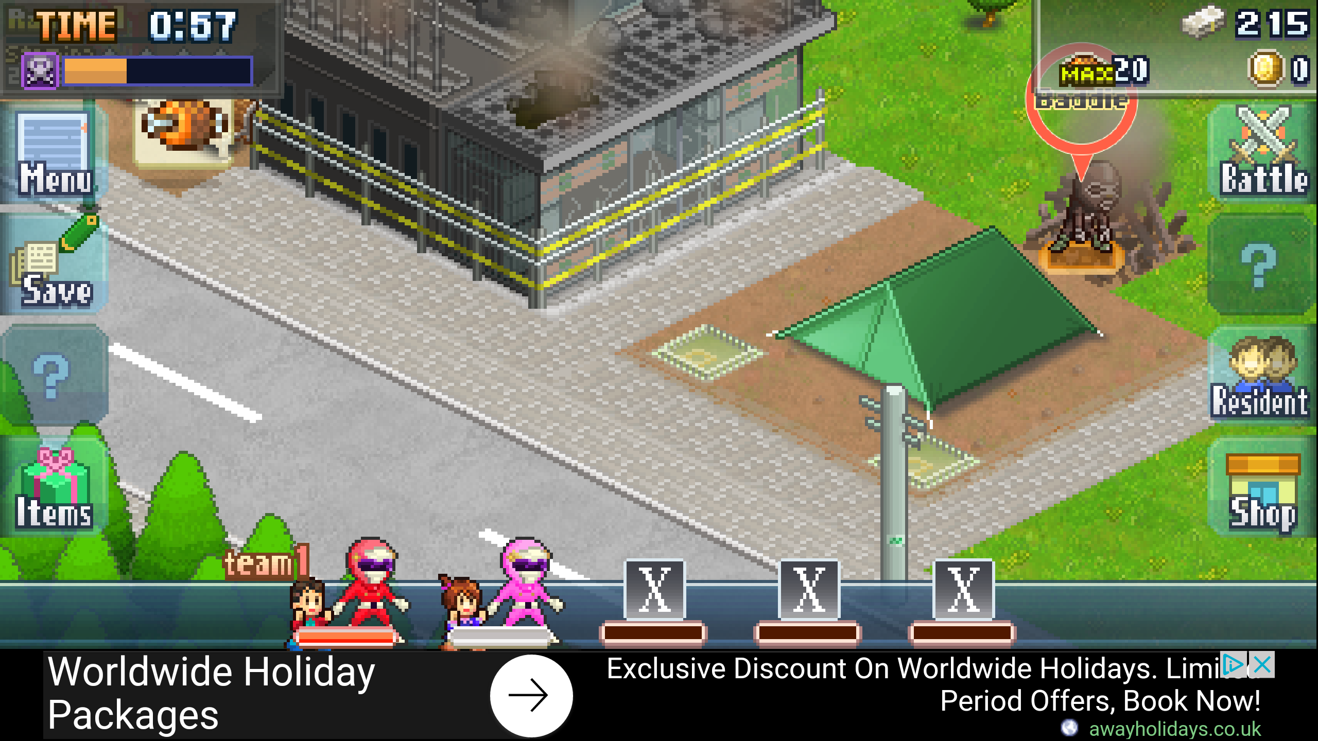 Kairosoft releases Legends of Heropolis, a free-to-play