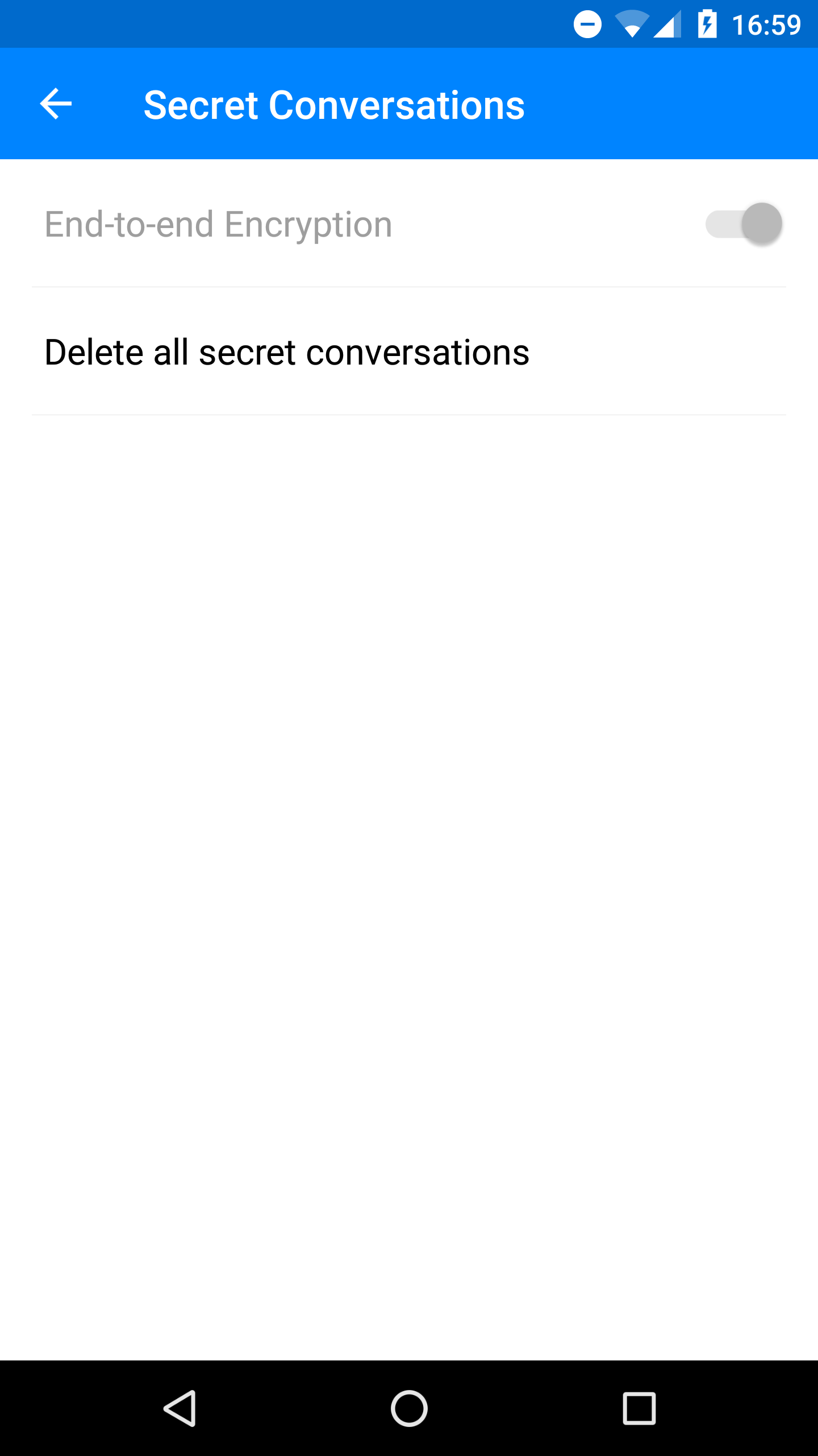 Update: Rolling out] Facebook Messenger