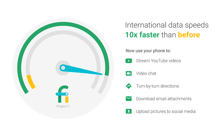 Project Fi gains faster worldwide data, Google offering $150 off Nexus 6P