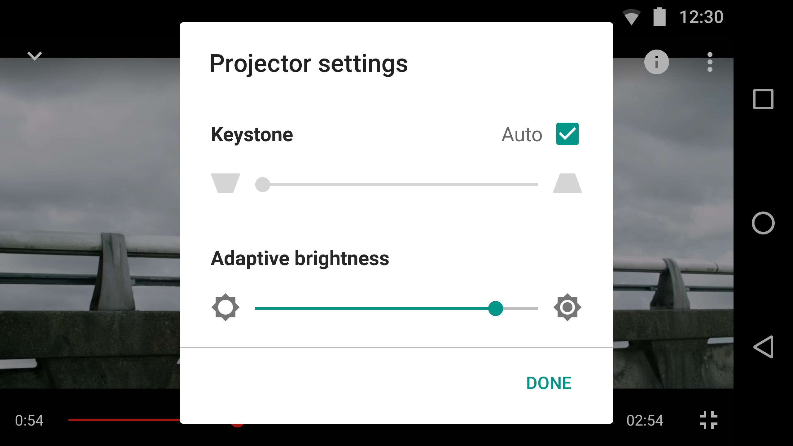 free projector keystone software
