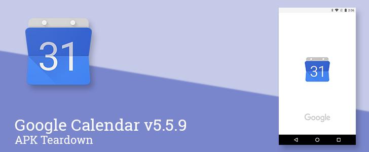 Google Calendar v5 5 9 prepares to add conference room