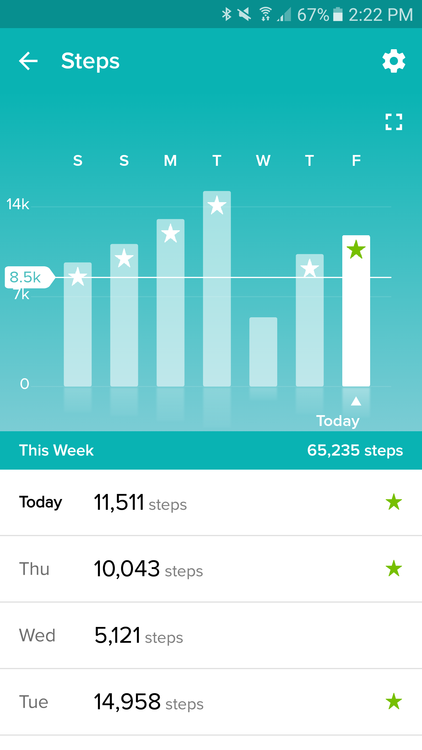 how to get steps on fitbit