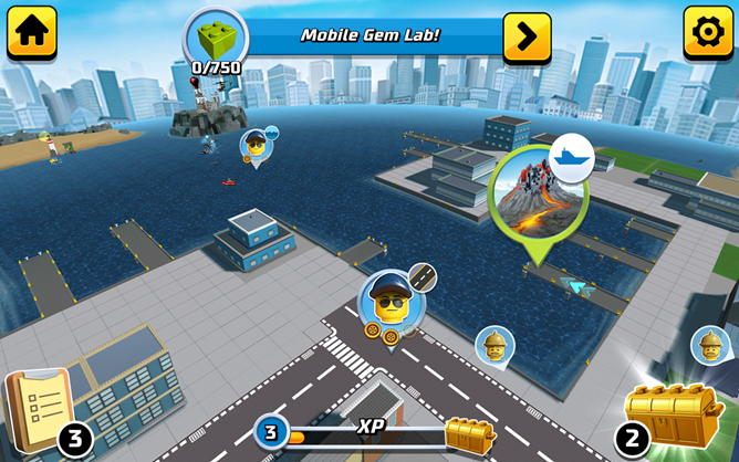 LEGO City My City 2 mixes elements from Sim City and sandbox games ...