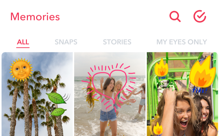 Snapchat Adds Memories An Easier Way For You To Find Your