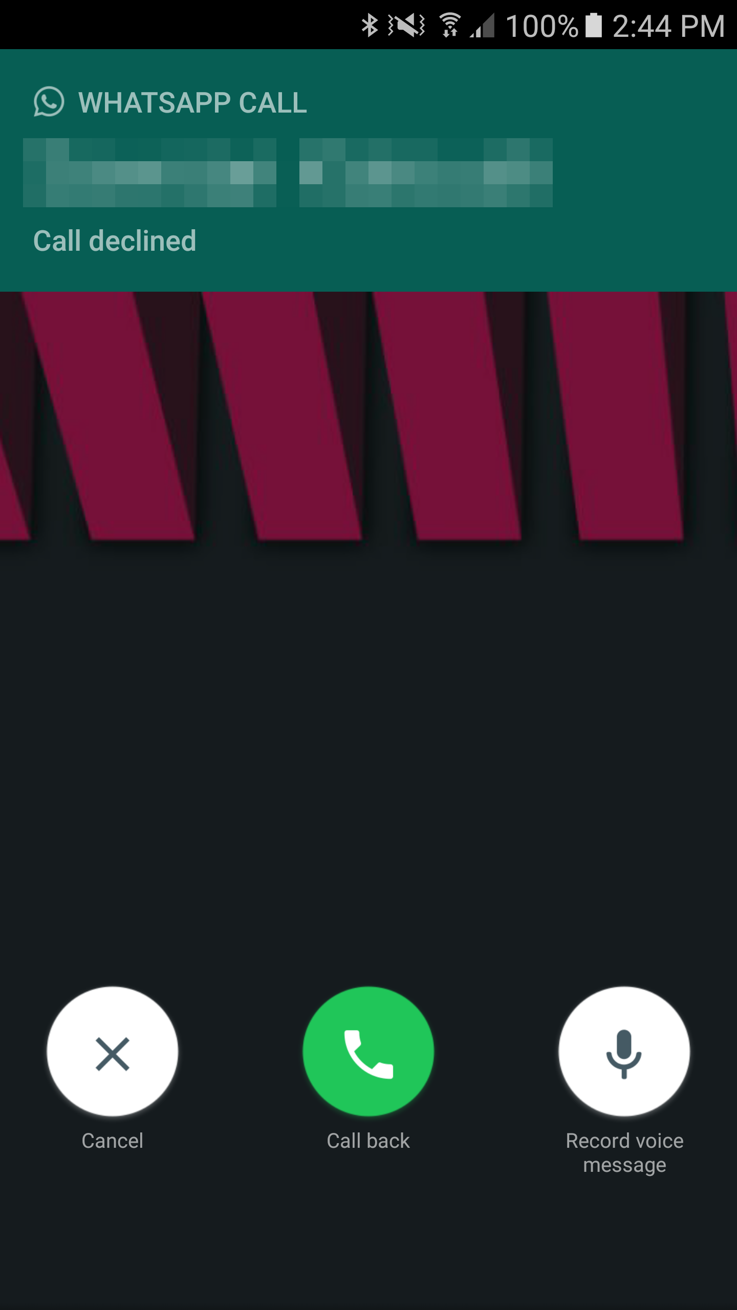 WhatsApp adds Voicemail and Call Back options, new Fixedsys font