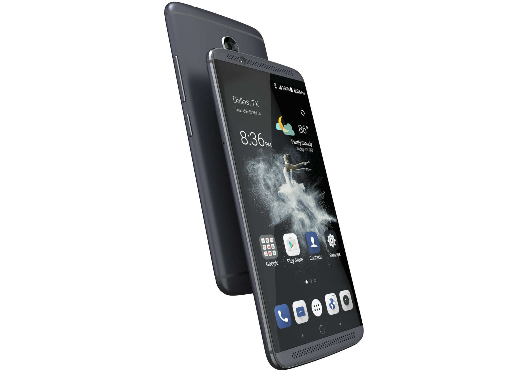 Zte's Latest Attempt At Breaking Into The Premium Smartphone Market Is The  Axon 7, And It's Available For Preorder Today You Have To Drop $39998 To