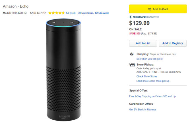 2016-08-08 12_40_02-Amazon Echo Black B00X4WHP5E - Best Buy