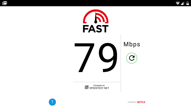 Netflix's FAST Speed Test Website is Now an Android App