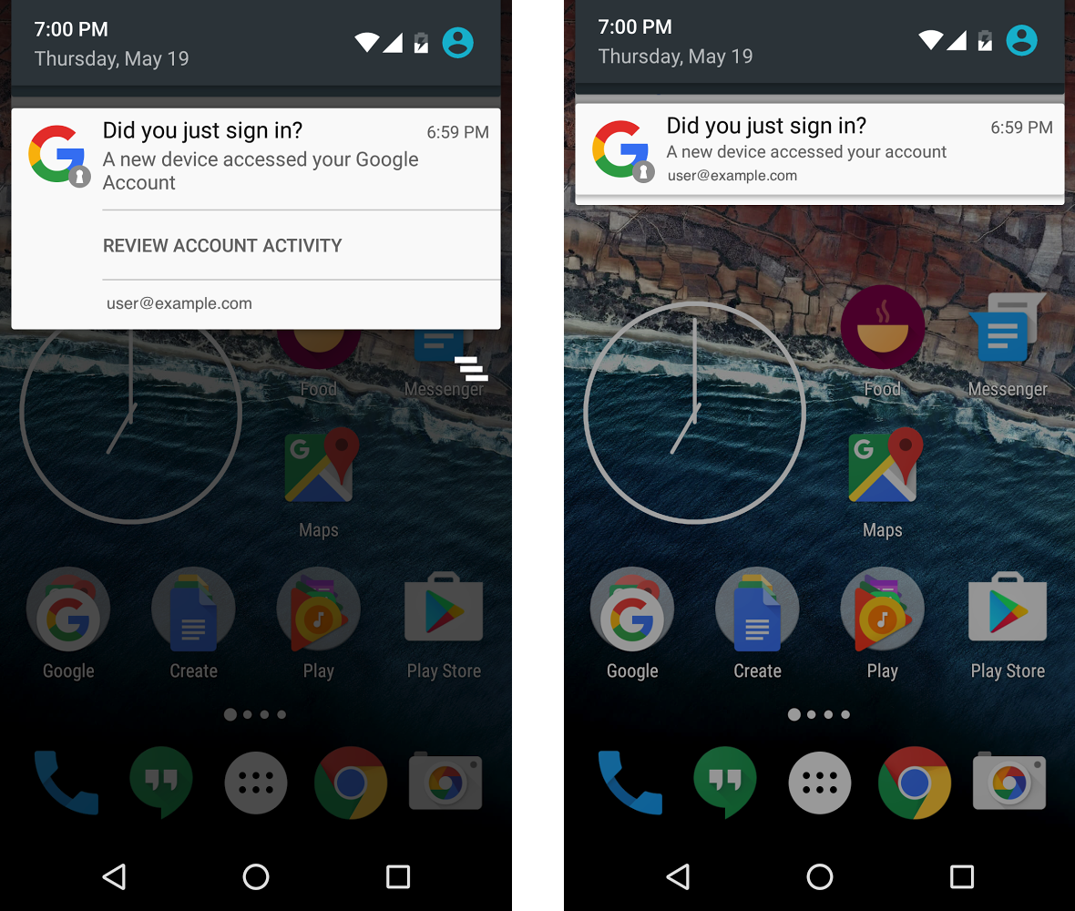 how to get a google account off your phone