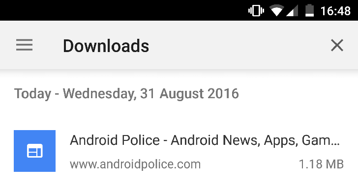 Chrome Dev adds a downloads manager and the ability to save