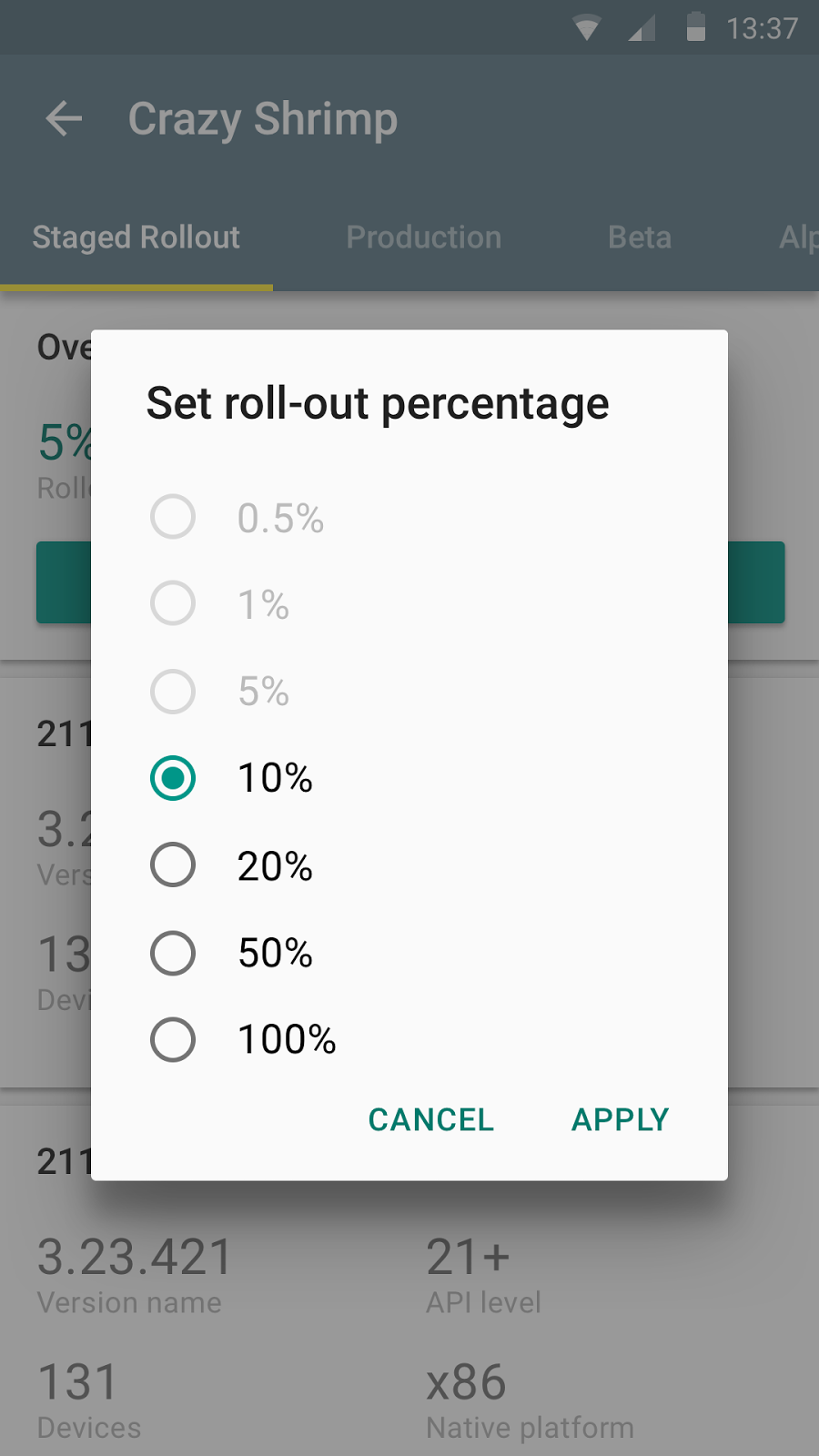 Google play developer console app gains review notifications and filters staged rollout - Android google developer console ...