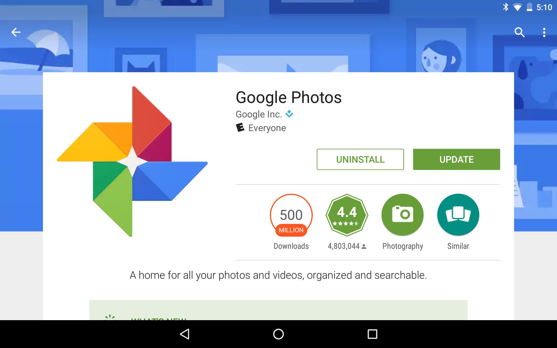 Some Apps Exist On Thousands Of Phones Others Live Millions Only A Few Occupy Hundreds Google Photos HP Print Service Plugin