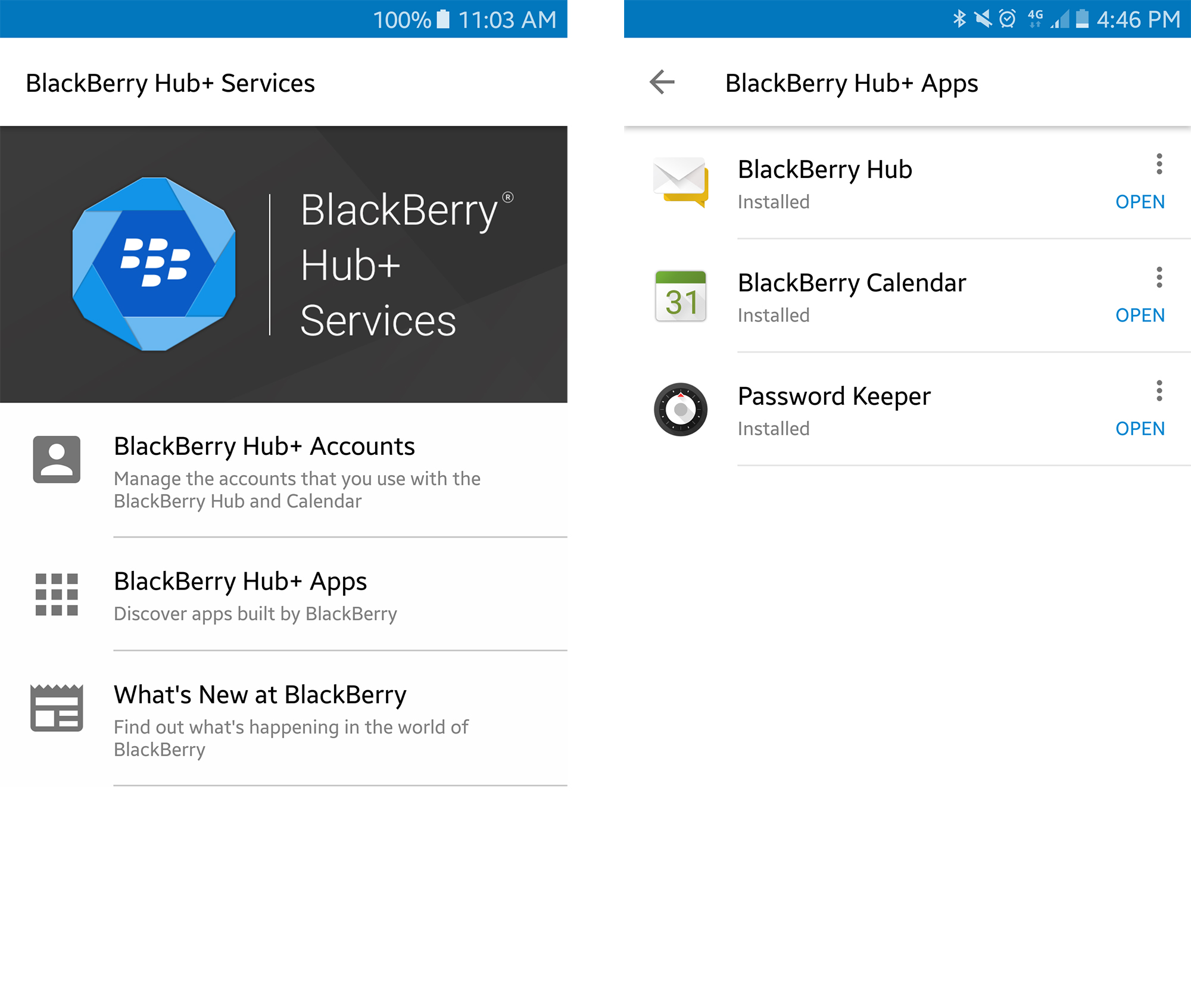 BlackBerry Hub+ comes to non-BlackBerry Marshmallow devices