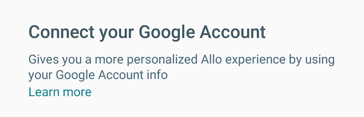 Although Google Allo is tied to your phone number, it's also connected to your Google account