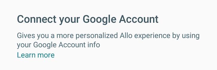 google-allo-google-account