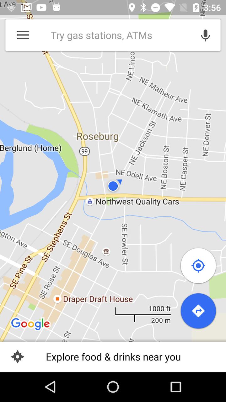 Google Maps Tests New Location Indicator  Shows Edits Tab