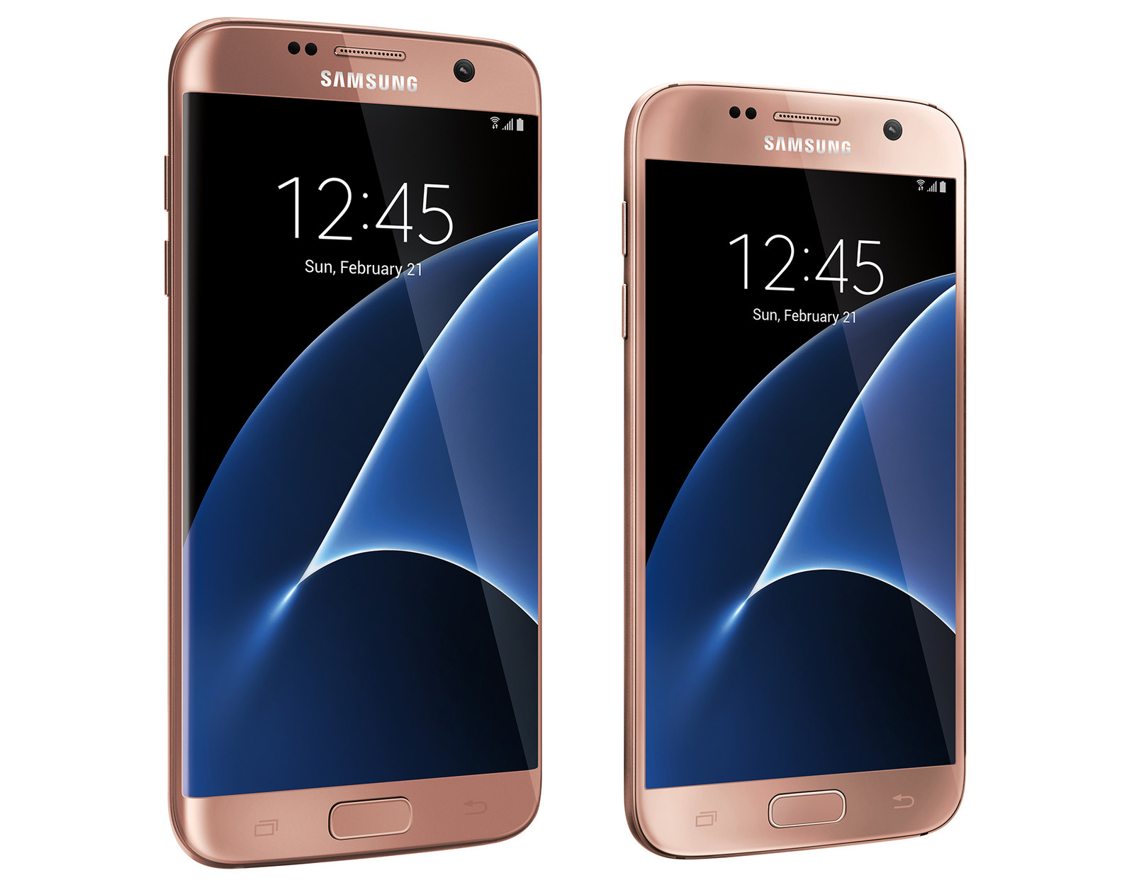 The Pink Gold Galaxy S7 And S7 Edge Are Coming To The Us As Best Buy